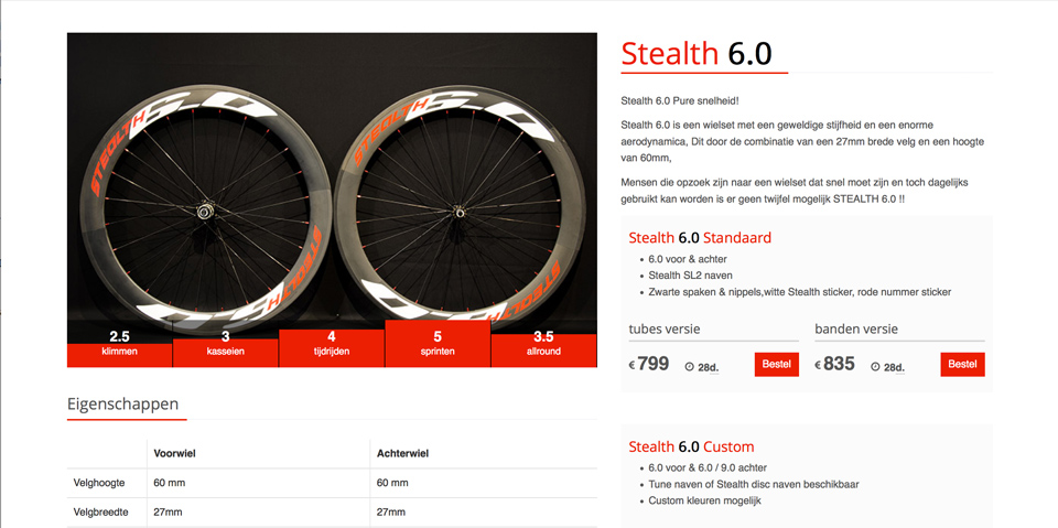 Stealth Wheels